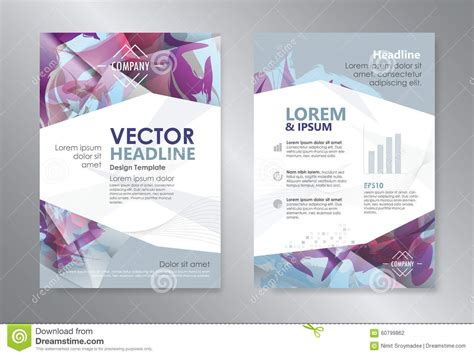 9 best images of magazine layout cover abstract colorful template polygon abstract design magazine brochure flyer