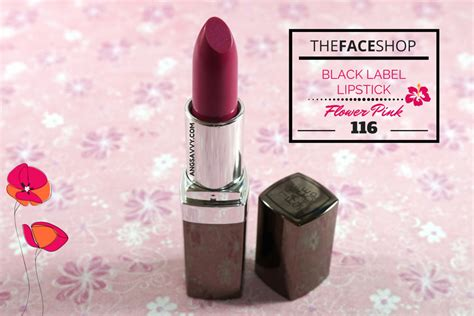 Shop Black Lipstick the shop black label lipstick 116 review ang savvy