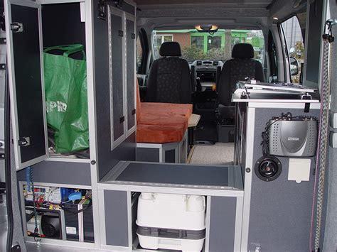 Garage Conversion custom campers mercedes vito viano