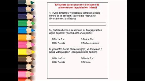preguntas de matematicas para una encuesta video de apoyo did 225 ctico para crear una encuesta espa 241 ol