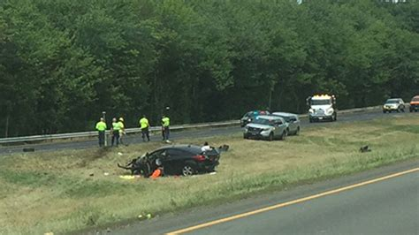 car crash ct serious crash on i 84 west in southington highway