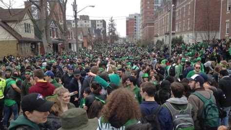 St Ezra st s day in waterloo big crowds trouble