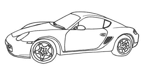Comment Dessiner Porsche 911 Coloriage De Porsche Cayenne L