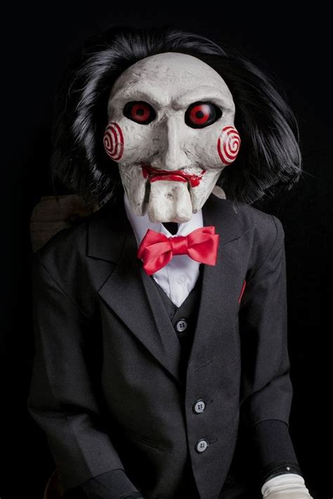 jigsaw film character saw puppet prop halloween dummy doll movie haunted horror
