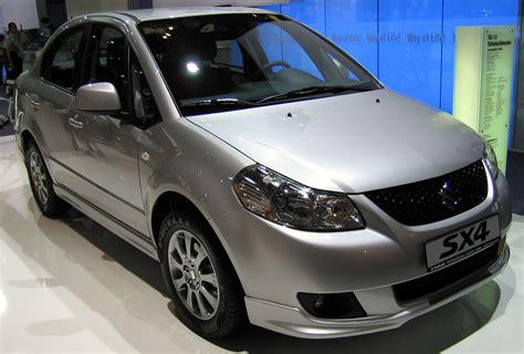 07 Suzuki Sx4 Suzuki Sx4 Sedan 07 фото
