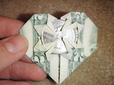 How To Make Vire Teeth Out Of Paper - how to make an origami dollar that holds a quarter