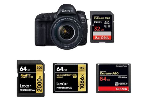 best memory card best memory cards for canon 5d iv daily news