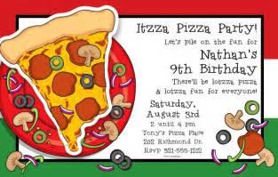 big slice of pizza wigglers invitation blank