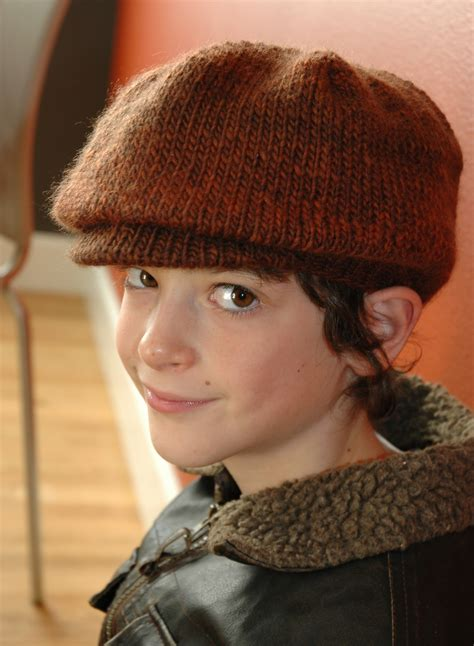 free pattern newsboy hat hats with bills and brims knitting patterns in the loop