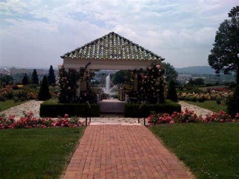 central gazebo in garden picture of hershey gardens