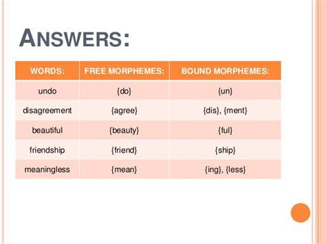 Morphology Morpheme Allomorph View Image | number names worksheets 187 words opposite in english