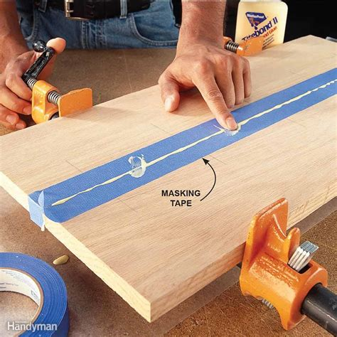 woodworking glue tips how to glue wood family handyman