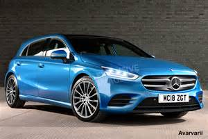 mercedes a class exclusive images and auto