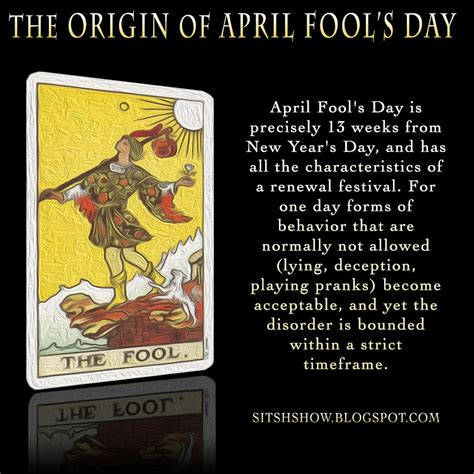 the origin of s day the origin of april fool s day all fool s day is