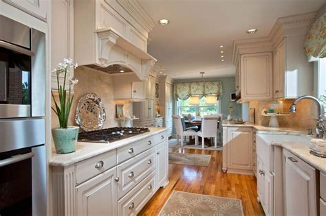 kitchen cabinets galley style 26 farmhouse kitchen ideas decor design pictures