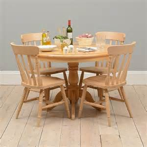 Farm Kitchen Table Sets Farmhouse Pine Kitchen Table And 4 Chairs Including Free Delivery 916 399 Pine Solutions