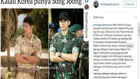 Dokter Kandungan Wanita Di Medan Bandingkan Suami Dengan Song Joong Ki Annisa Pohan Ingin
