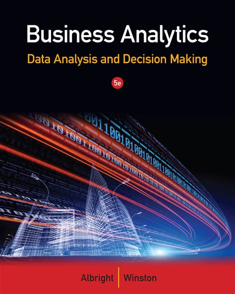 Mba In Decision And Information Science by Business Analytics 9781133629603 Cengage