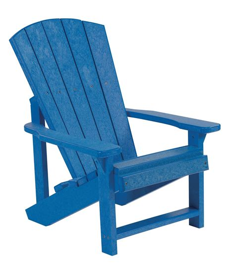 Blue Adirondack Chair by Generations Blue Adirondack Chair From Cr Plastic