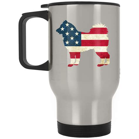 top pet gifts usa flag alaskan malamute travel mug top pet gifts