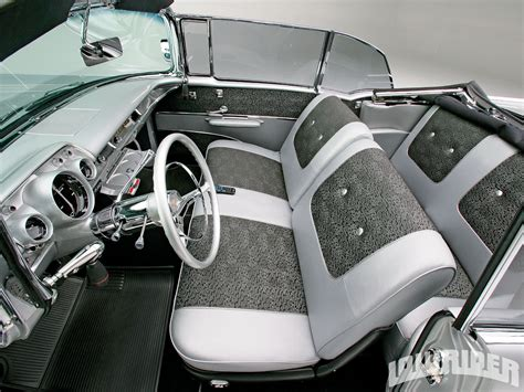 Champion Upholstery 1957 Chevrolet Bel Air Convertible Street And