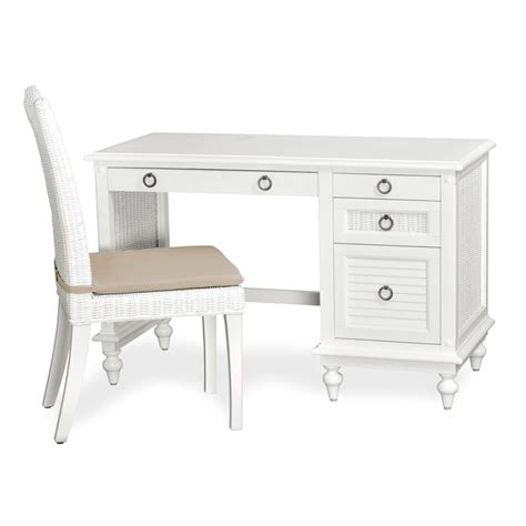 Desk And Chair Sets by Destin Wicker Desk And Chair Set