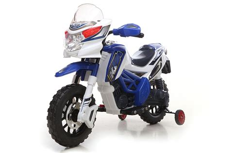 kids electric motocross bike blue motocross bike 6v kids electric ride on