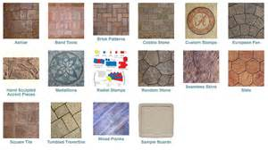 Outdoor Patio Mat Stamped Concrete Patterns Diehl Concrete