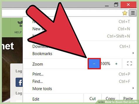 Firefox Mouse 6 ways to zoom out on a pc wikihow