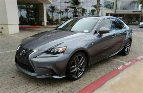 lexus gray ca fs 2014 lexus is350 gray with interior clublexus