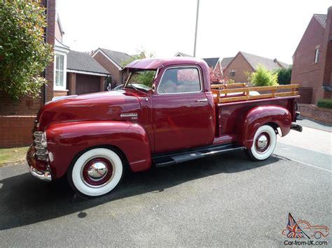 1949 chevrolet truck 1949 chevrolet 3100 up truck 1 2 ton 60k