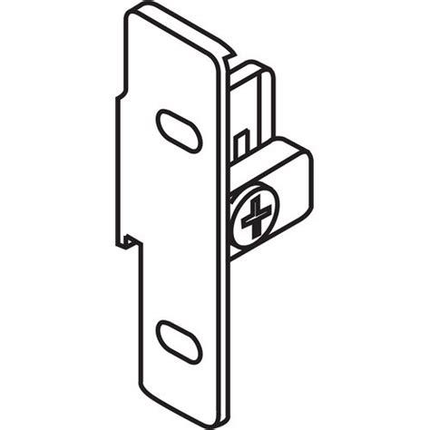 Blum Zsf 1510 04 Metabox Right Hand Narrow Front Fixing