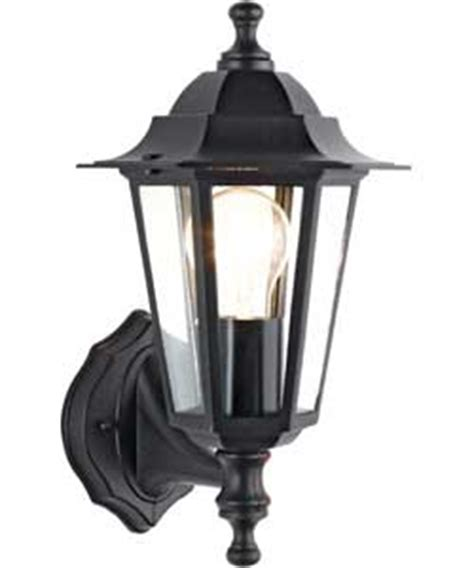 argos lights outdoor black outdoor wall lantern