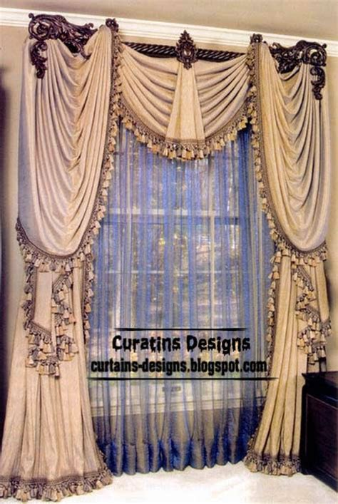 luxury drapery curtain designs