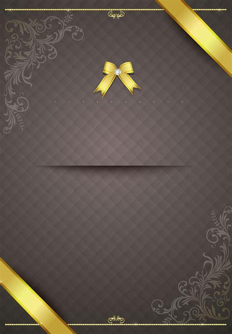 ribbon bow pattern invitation invitation card background