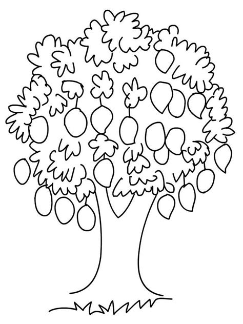 mango coloring pages download and print mango coloring pages