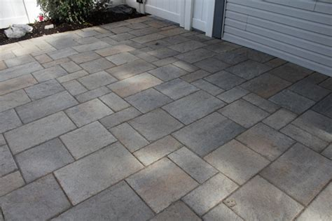 Concrete Patio Pavers Concrete Patio Overlay With Pavers Elizabethtown Pa Tomlinson Bomberger