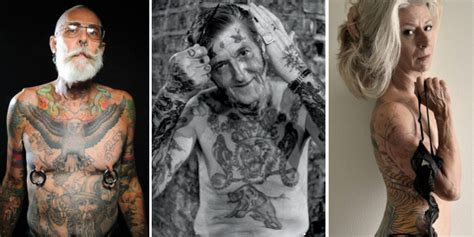 tattooed old people 8 stupid things say to with tattoos