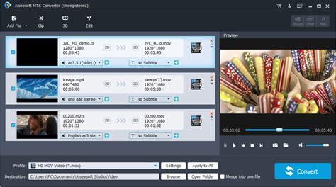 format video mts mts converter convert mts to mp4 mov avi wmv mpeg mp3