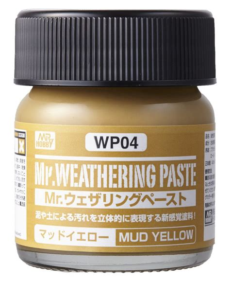 Mr Weathering Color Wc02 Ground Brown mr hobby mr weathering paste mud yellow