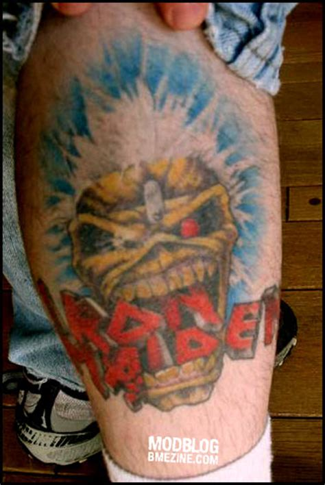 iron street tattoo iron maiden tattoos bme piercing and