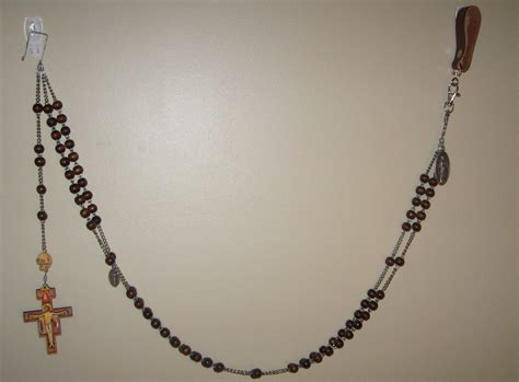 franciscan rosary rosary gallery my rosary habit
