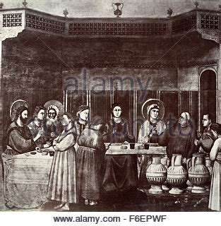 Wedding At Cana Giotto by Marriage At Cana Or Wedding At Cana Stock Photo Royalty