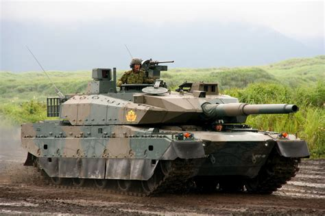 army tank japanese type 10 main battle tank mbt debuts in military