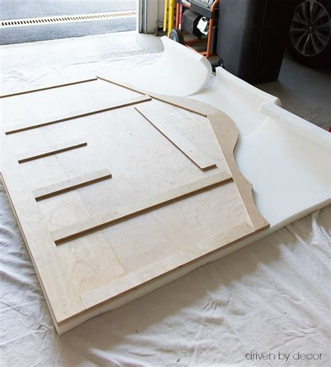 making a headboard with foam 7 steps to a diy upholstered kitchen banquette driven