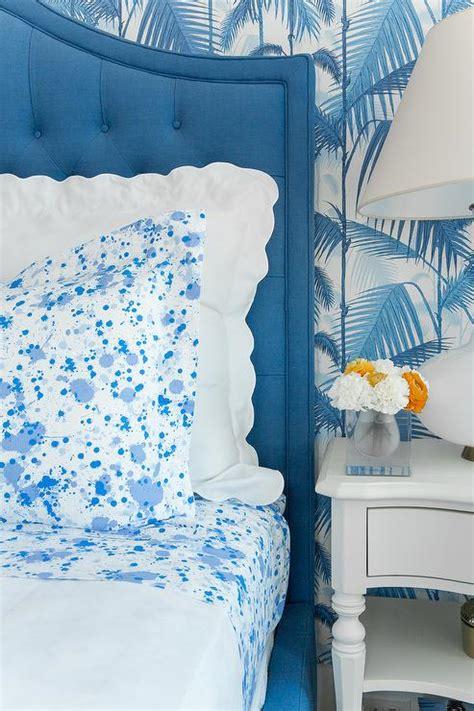 Paint Splatter Comforter by Blue Bedroom With Blue Paint Splatter Bedding Cottage