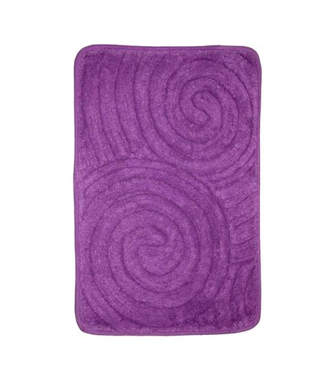 Purple Bath Rugs House This Bath Rug Rajasthan Purple Buy House This Bath Rug Rajasthan Purple At Low