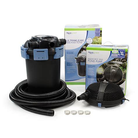 aquascape ultraklean pond filtration kits aquascapes