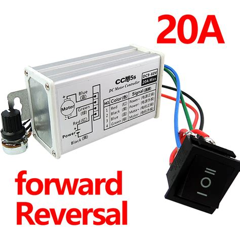 variable speed motor free shipping pwm motor speed controller 12v24v36v48v 20a