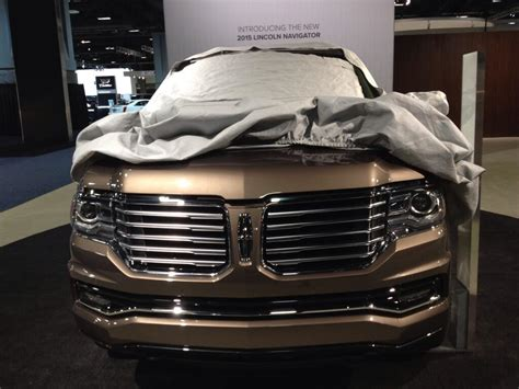 new lincoln truck 2015 2015 lincoln navigator teased ahead of tomorrow s debut
